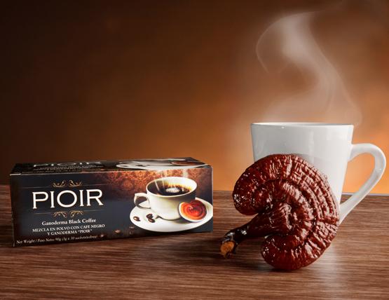 black coffee pioir